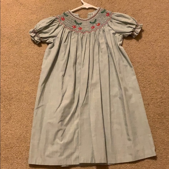 Other - Cherry Smocked Dress